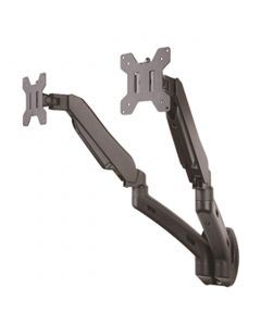 """TygerClaw Gas Spring double extending arms wall Mount for 13 to 27"""" Monitor"""
