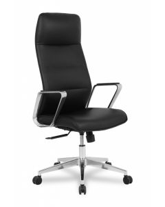 TygerClaw Executive High Back PU Office Chair