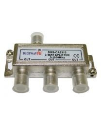 Digiwave 3 Way Splitter for 5 to 1000Mhz