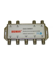 8 in 1 out Diseqc Switch