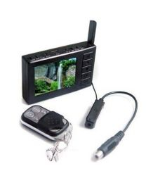 NTSC Wireless mini Camera w/DVR Kit; Include DVR/Camera/Battery/Remote Controller/Power Adapter/USB Cable/AV Cable