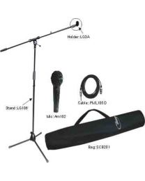 TygerClaw Professional Microphone Stand Kit