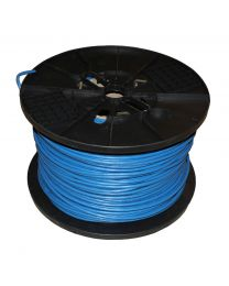 TygerWire 1000 Feet UTP FT6 CMP CAT5e Network Cable (Blue)