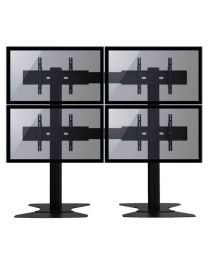 "TygerClaw 4 TVs Stand for 30"" - 60"" TV"