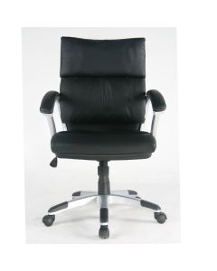 TygerClaw Mid Back PU Leather Office Chair (Opened Box)