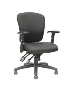 TygerClaw Mid Back Fabric Office Chair