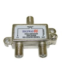 Sat/Ant Diplexer (small housing type)