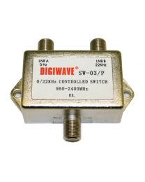 Digiwave 2 IN 1 OUT Tone Controlled Switch