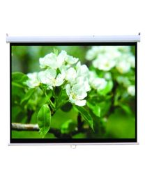 "TygerClaw 100"" Soft PVC Manual Projector Screen"
