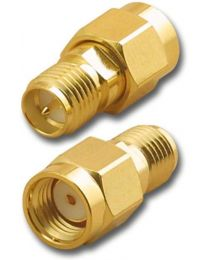 BY-SMA RP Male to SMA RP Female adapter