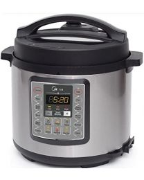 "Ecohouzng ""ECP50034"" Stainless Steel Electric Pressure Cooker"