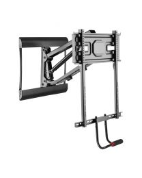 "TygerClaw 43"" – 73"" Full-motion + Pull-Down TV Wall Mount"