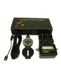 Satellite Finder Kit /w Compass and Power supplier