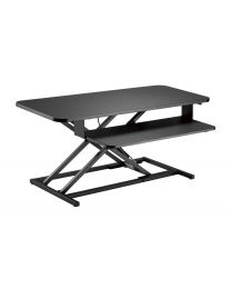 """TygerClaw """"TYDS140048"""" Gas Spring Sit-Stand Desk"""